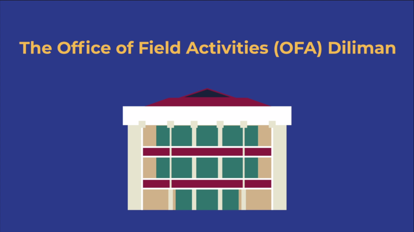 Office of Field Activities (OFA) Diliman